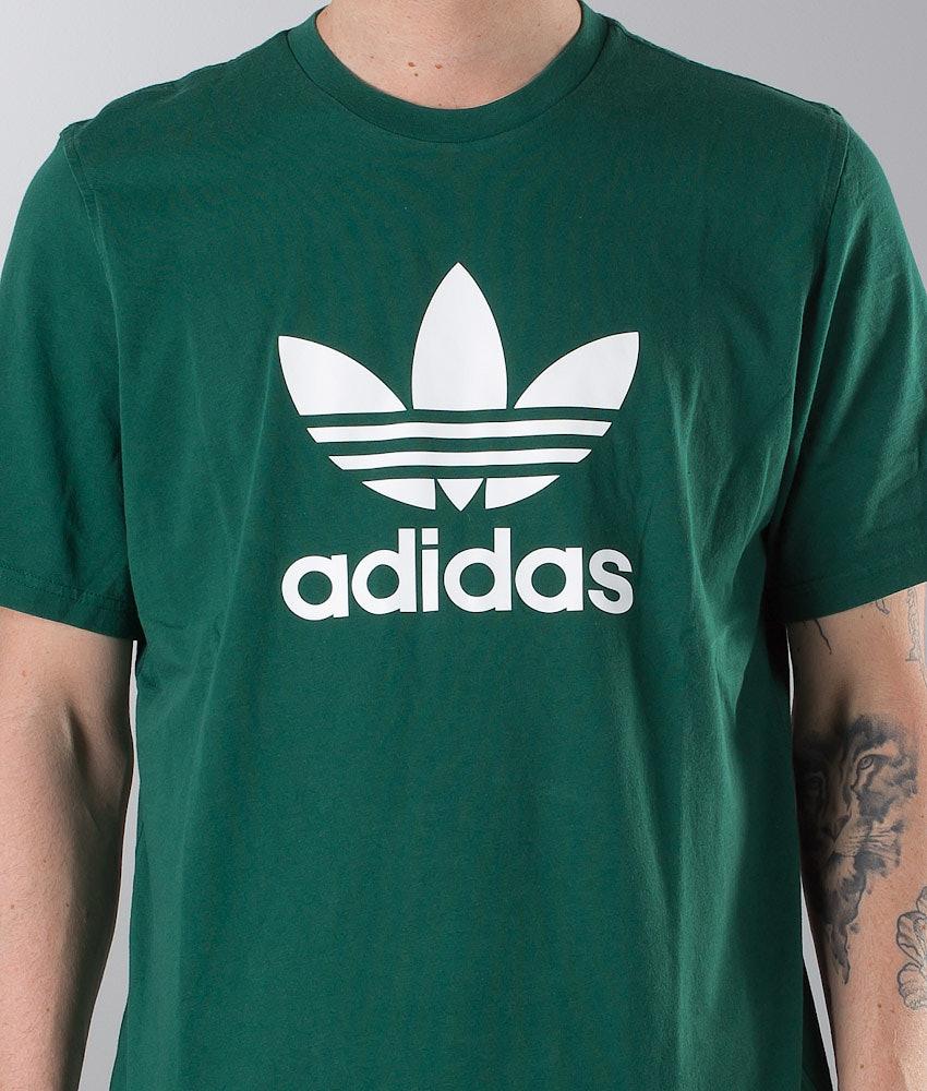 041fcd44110 Adidas Originals Trefoil T-shirt Collegiate Green - Ridestore.com
