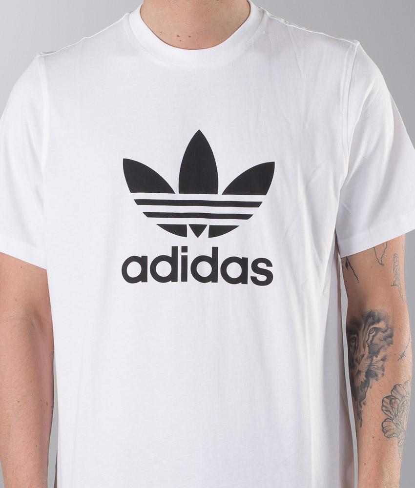 Adidas T Shirts uk Adidas Originals Trefoil Long Sleeve T
