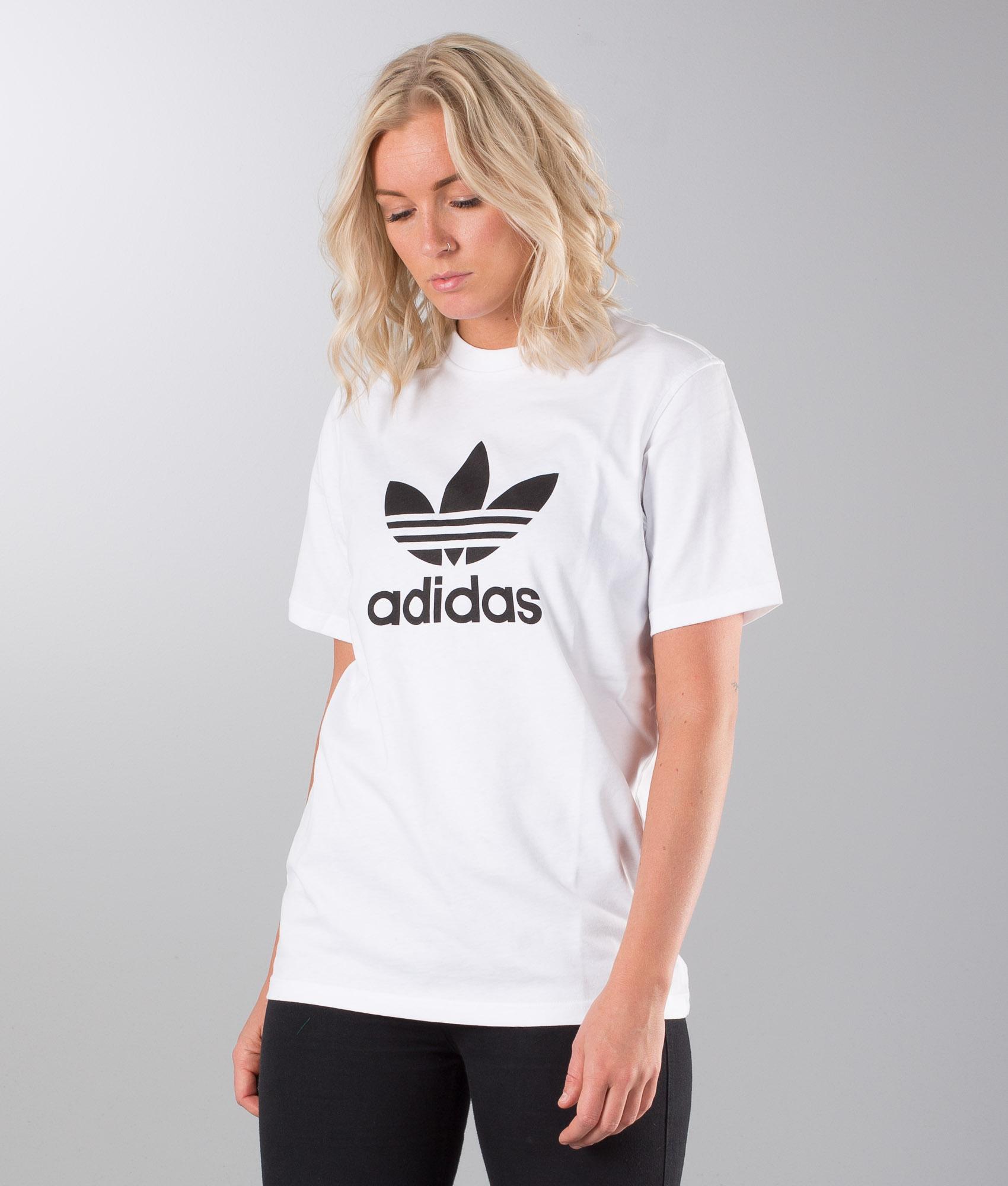 Adidas Originals Trefoil Unisex T shirt White