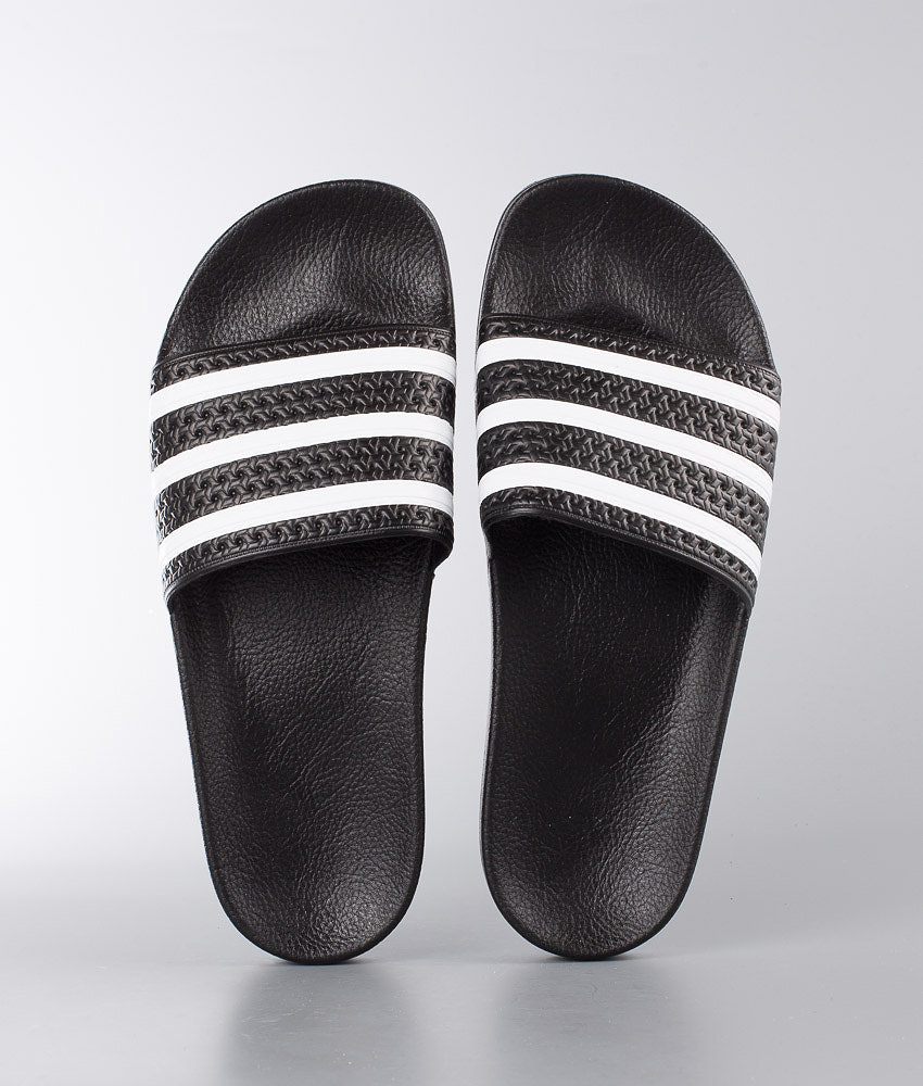 f3a3c77f Adidas Originals Adilette Sandal Core Black/White/Core Black ...