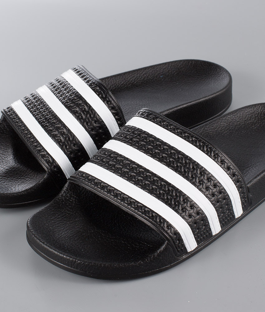 7a0c06b0de7 Adidas Originals Adilette Sandal Core Black White Core Black ...