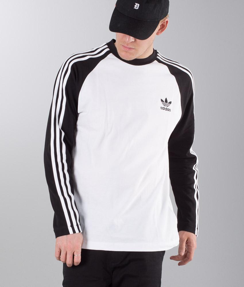 adidas Pique 3 Stripes Long Sleeve Tee | My adidas | Adidas