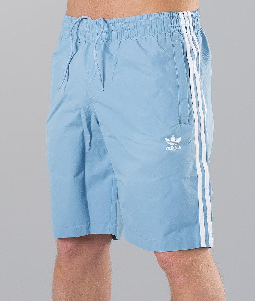 df8510af68 Adidas Originals 3-Stripes Swimwear Ash Blue - Ridestore.com
