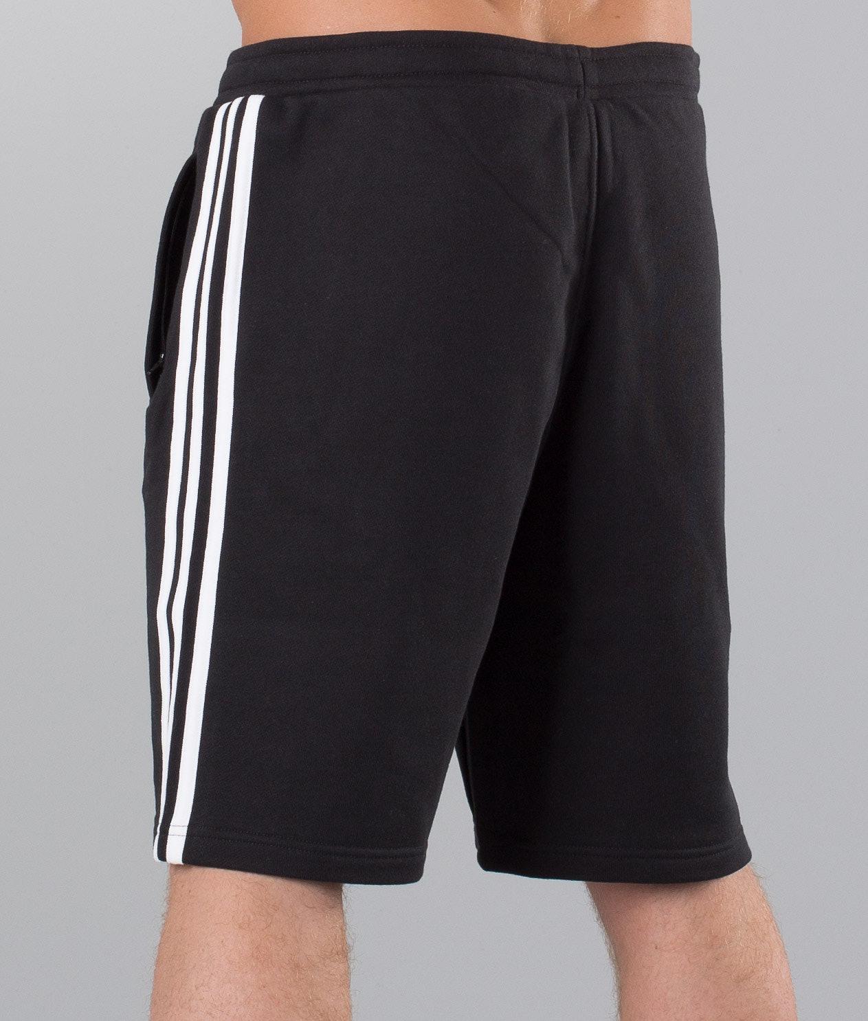 2cf548073b5e Adidas Originals 3-Stripes Shorts Black - Ridestore.com