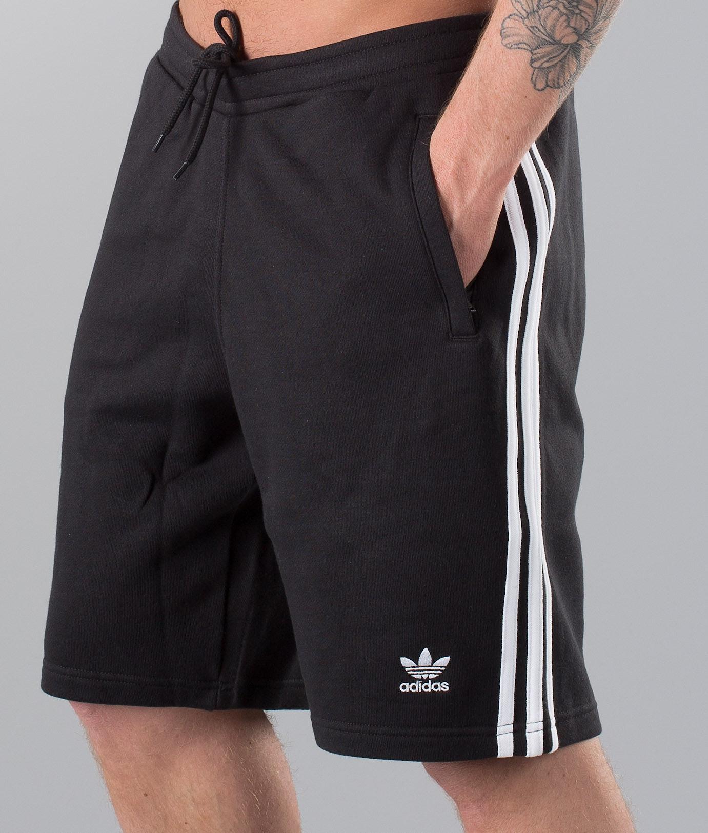 610b945f Adidas Originals 3-Stripes Shorts Black - Ridestore.com