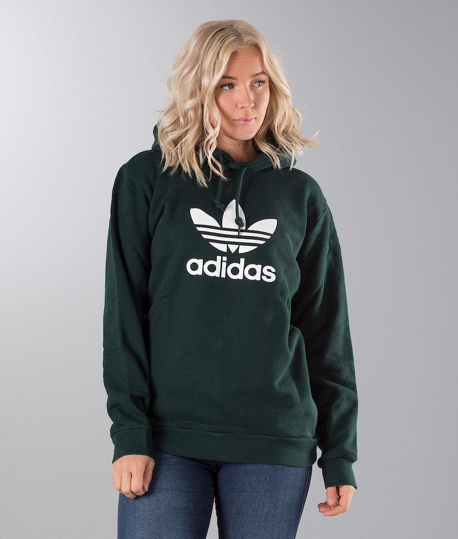 Adidas Originals Trefoil Unisex Hood Green Night