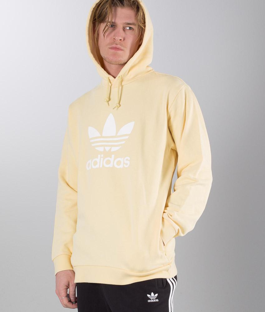 TREFOIL HOODIE Beige CE2414 | Adidas hoodie, Hoodies