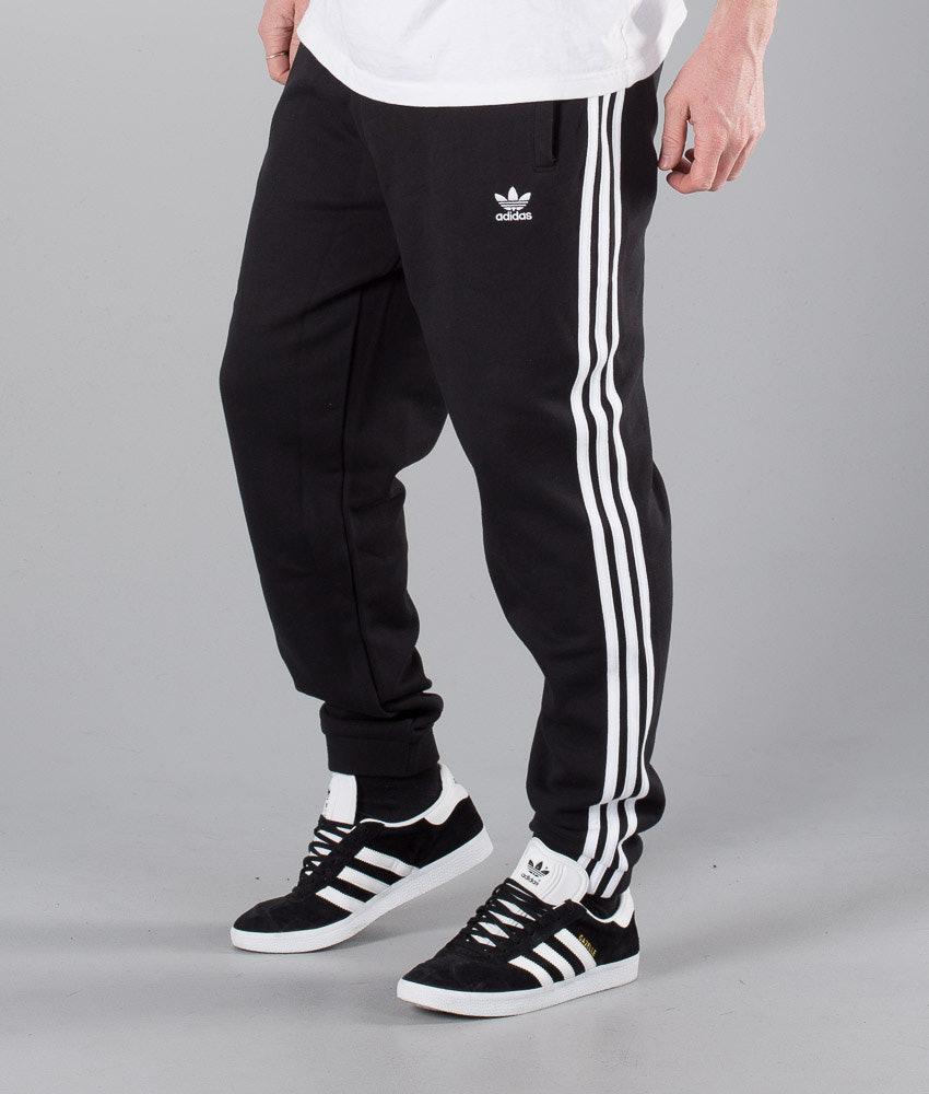 d0cd3a829 Adidas Originals 3-Stripes Pants Black - Ridestore.com
