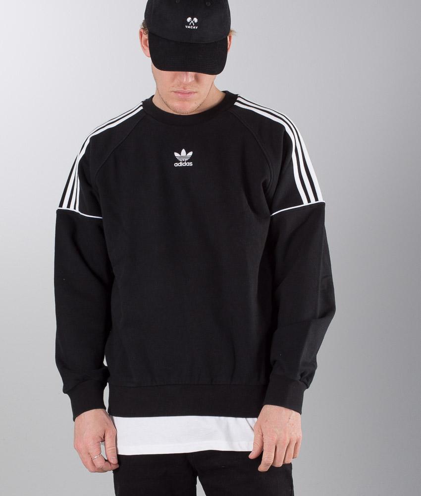 grey white and black adidas sweatshirt