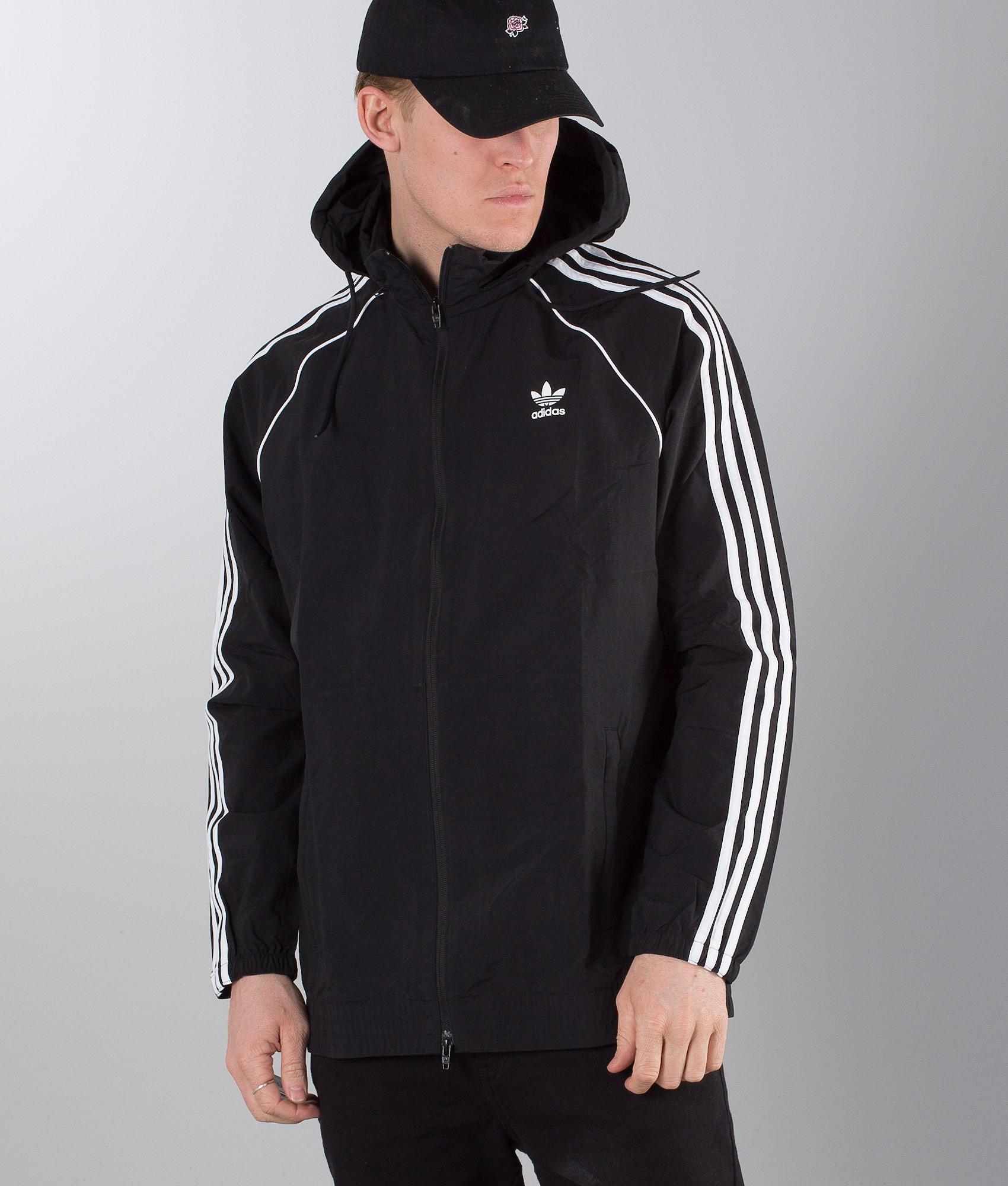 da186e9c27350 Adidas Originals SST Jacket Black - Ridestore.com