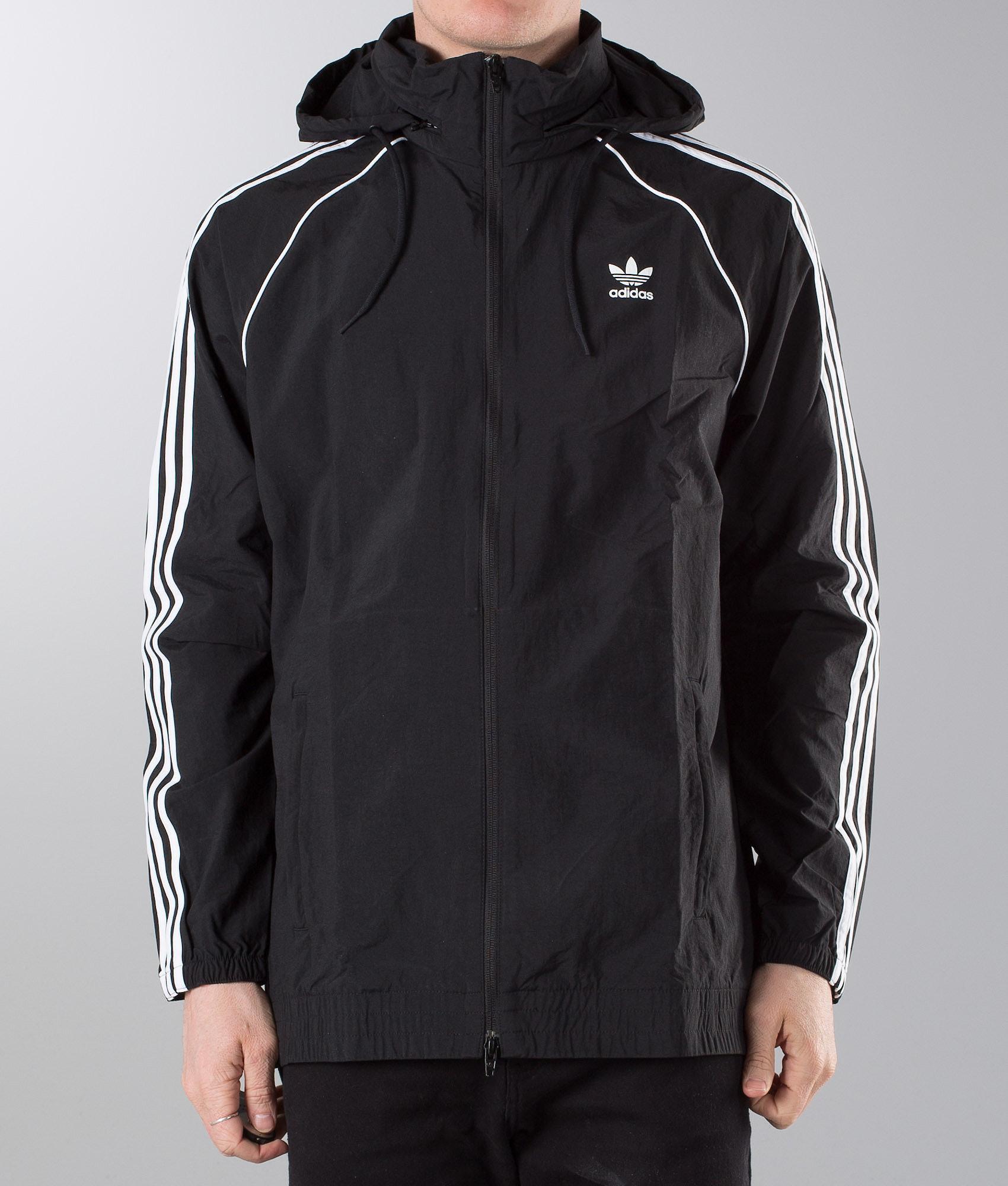 5dd976a6b828 Adidas Originals SST Jacket Black - Ridestore.com