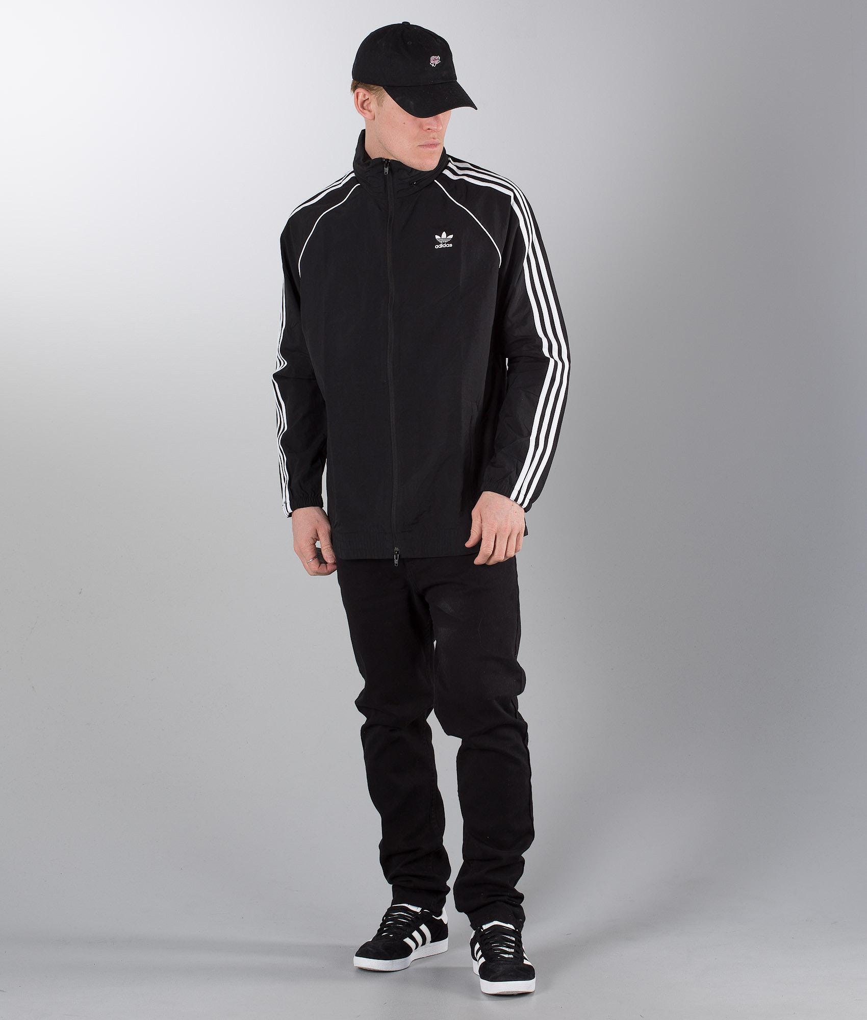 Adidas Originals SST Jacket Black - Ridestore.com 2ae3bf9396