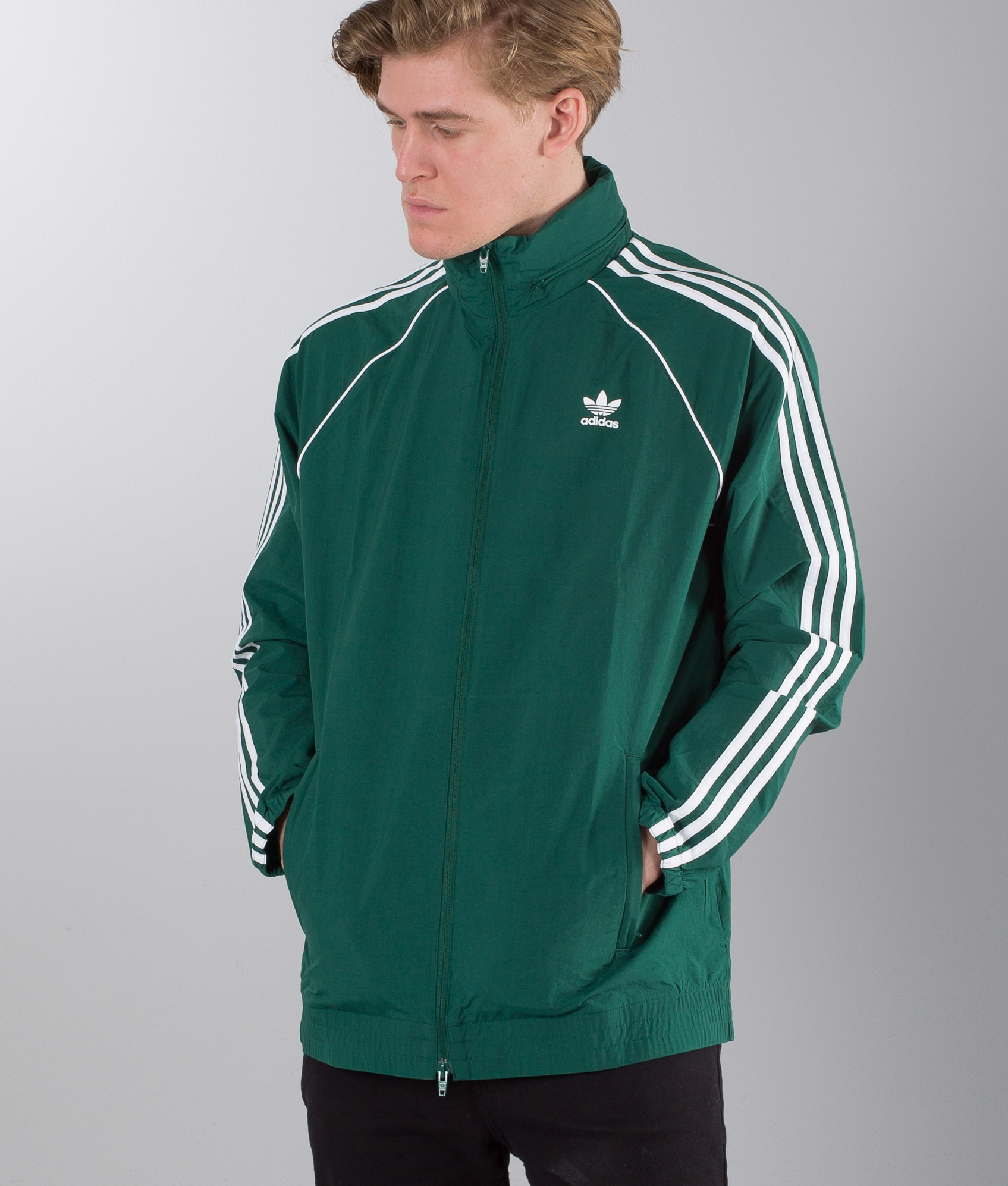 Collegiate Veste Adidas Green Originals Sst kZOXiuP