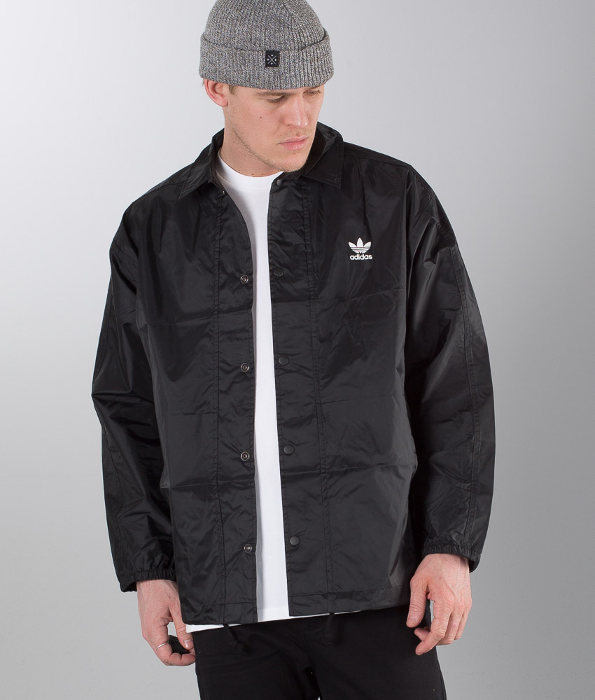 Adidas Originals Trefoil Coach Veste Black
