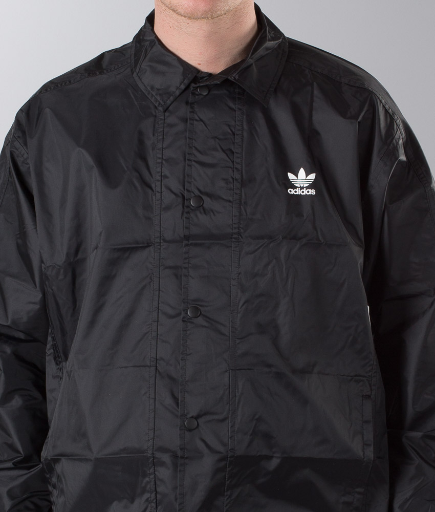 Adidas Originals Trefoil Coach Jakke Black