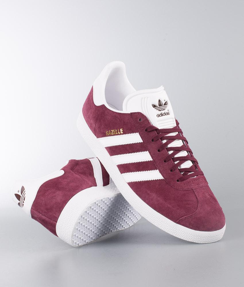wholesale dealer 8e336 701f4 Adidas Originals Gazelle Shoes Burgundy