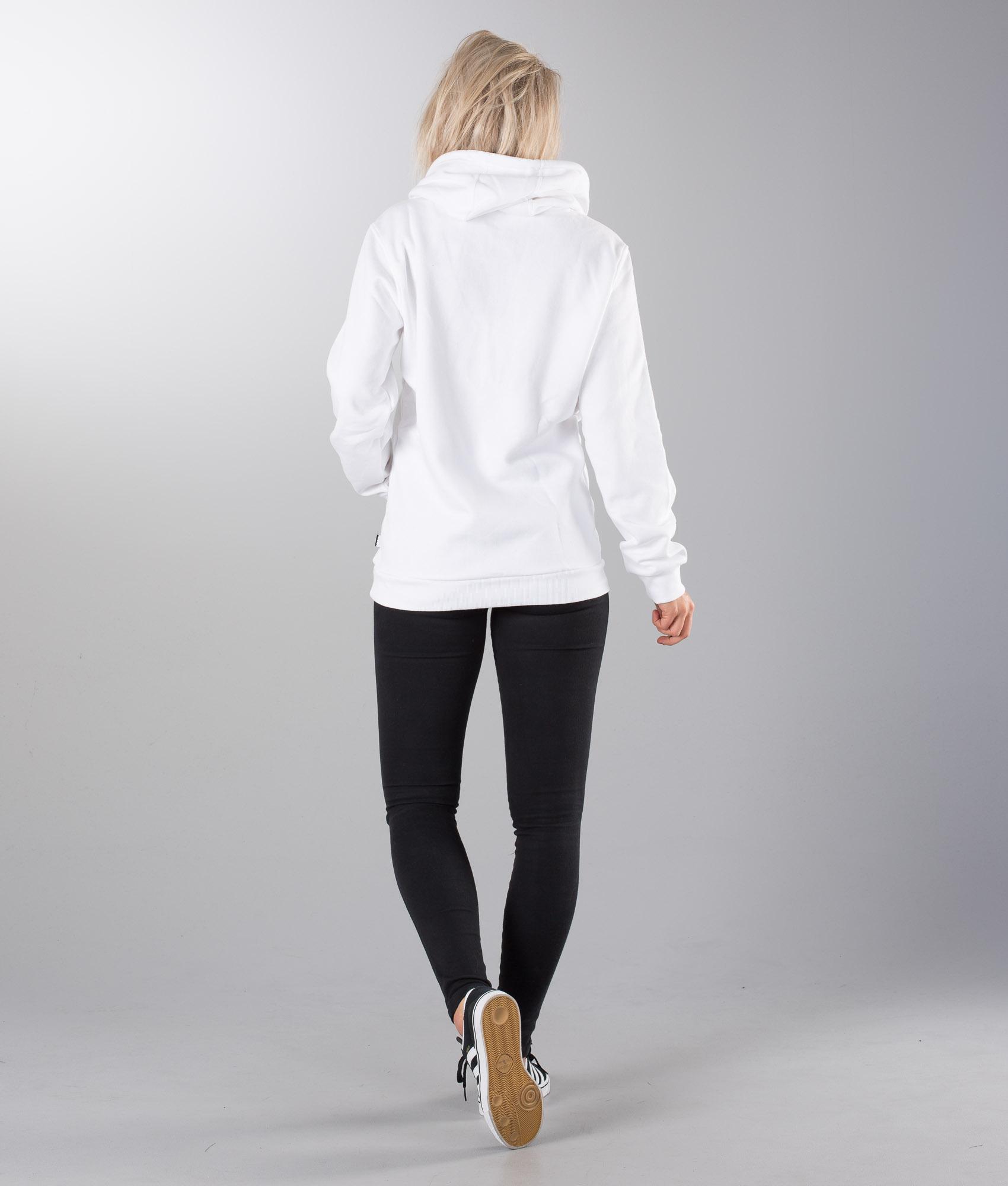 Adidas Skateboarding Spell Out Hd Unisex Capucha WhiteBlack