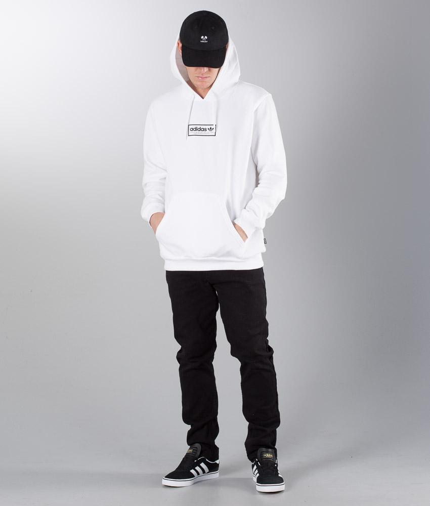 Adidas Skateboarding Spell Out Hd Hoodie WhiteBlack