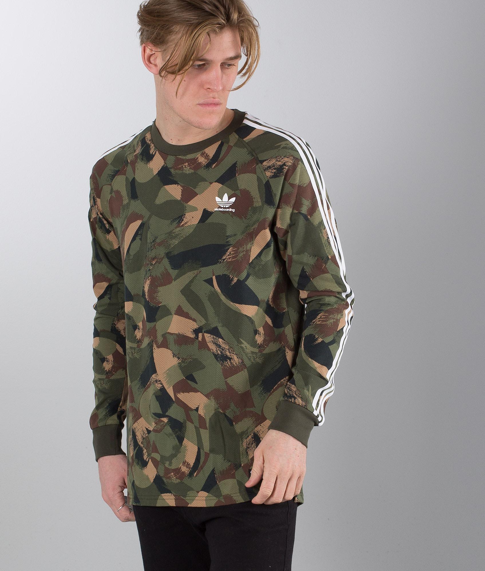 d0cba44a Adidas Skateboarding Ca Camo Longsleeve Camo Print - Ridestore.com