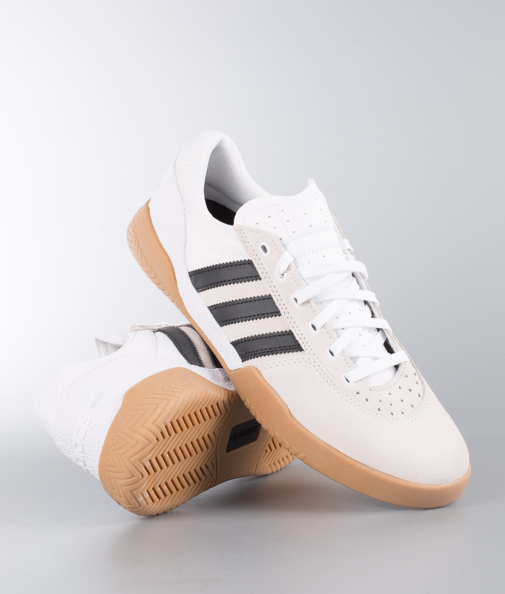 Adidas Skateboarding City Cup Shoes Footwear WhiteCore BlackGum