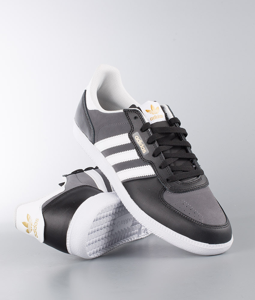 watch 3780f 05eea Adidas Skateboarding Leonero Shoes Black
