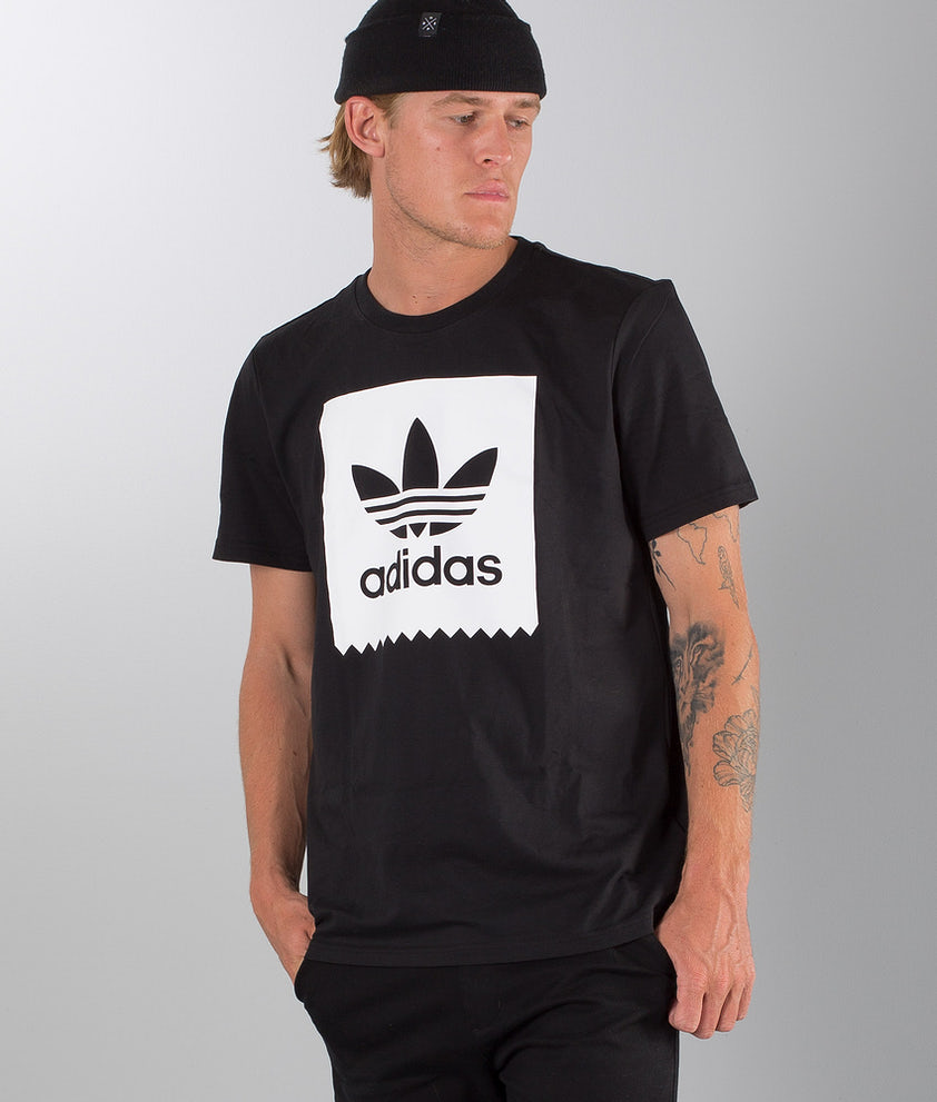 Adidas Skateboarding Solid Bb T-shirt Black/White