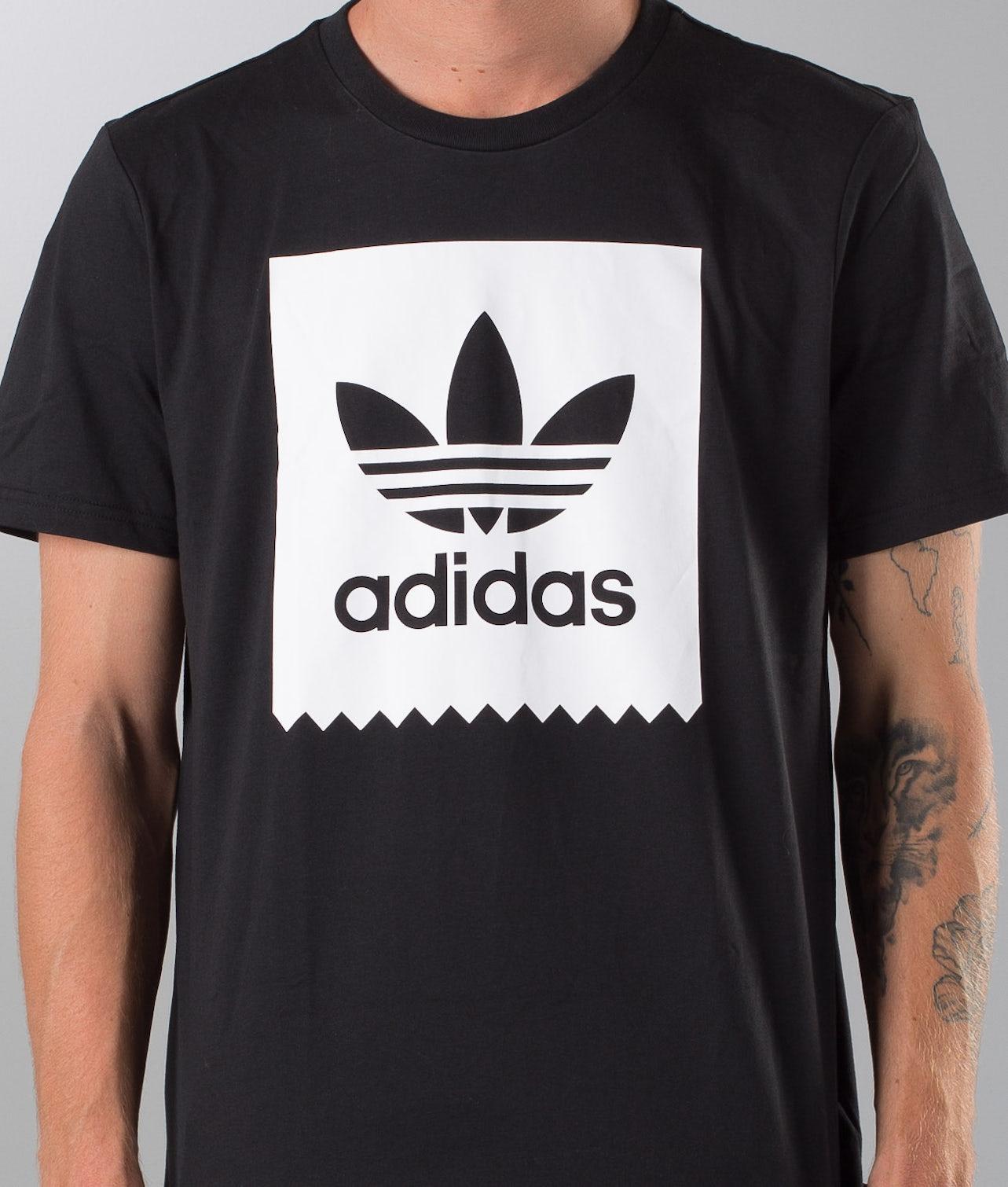 Adidas Skateboarding Solid Bb T-shirt Black/White