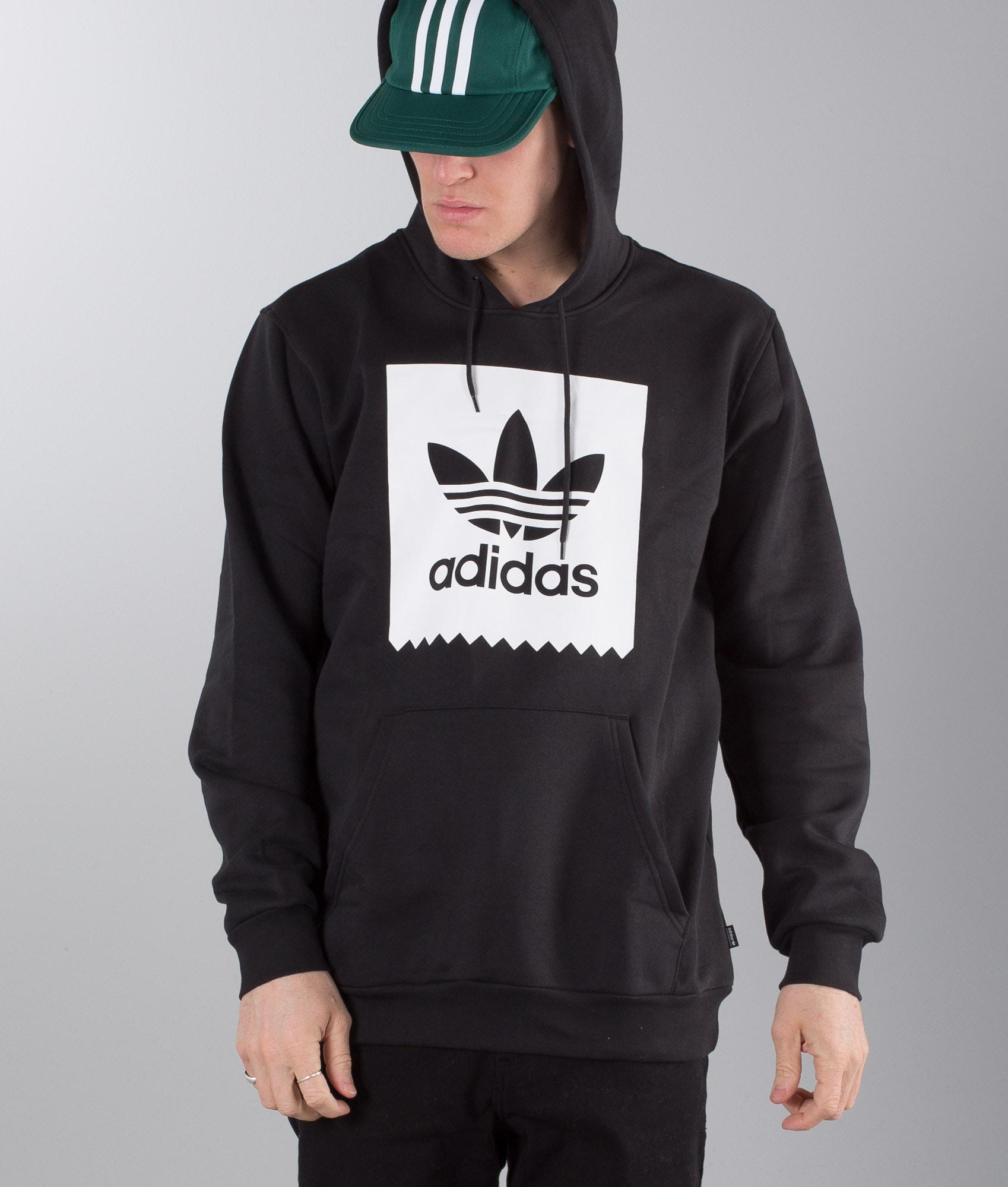 the best attitude ab039 81173 Adidas Skateboarding Solid Blackbird Hoodie Black