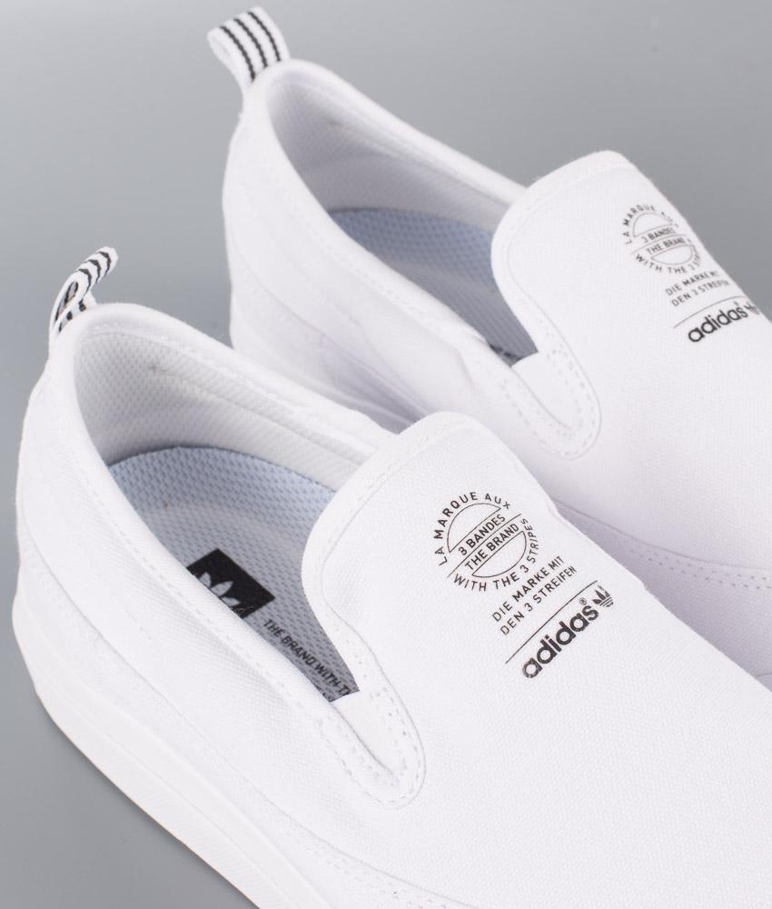Adidas Skateboarding Matchcourt Slip Sko Footwear WhiteFootwear WhiteFootwear White