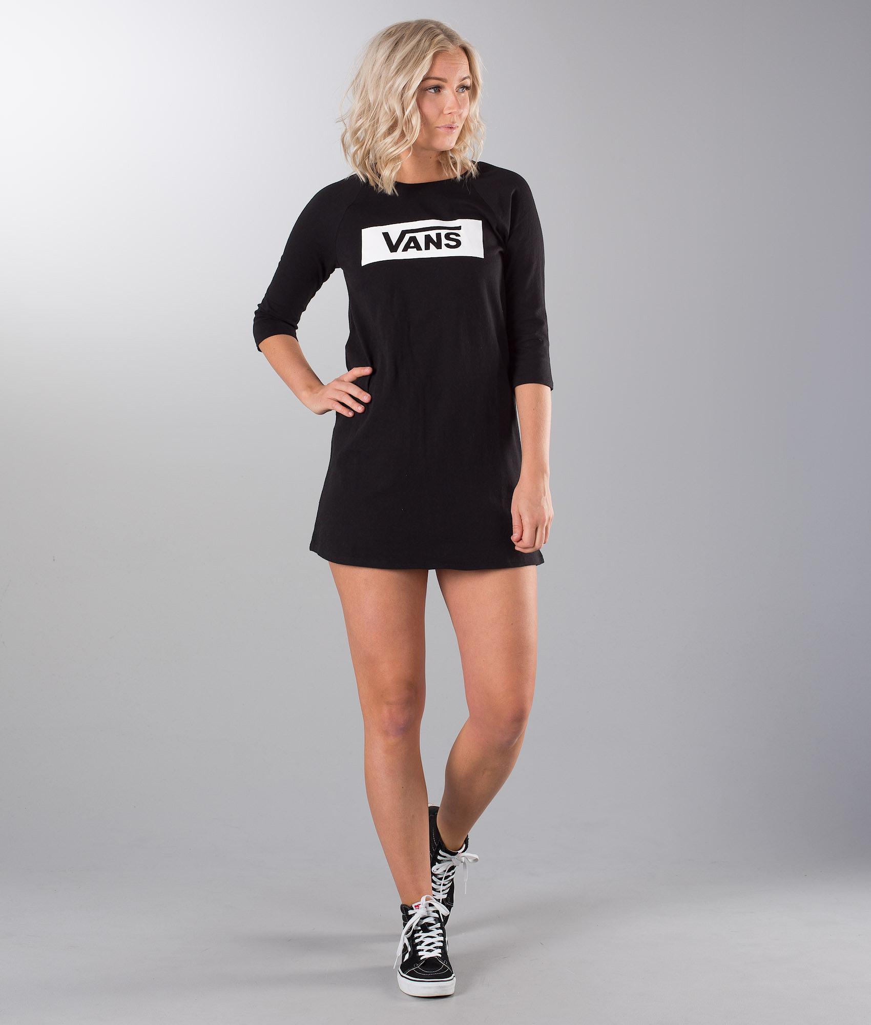 a6d3b779985 Vans Open Road Raglan Dress Black - Ridestore.com