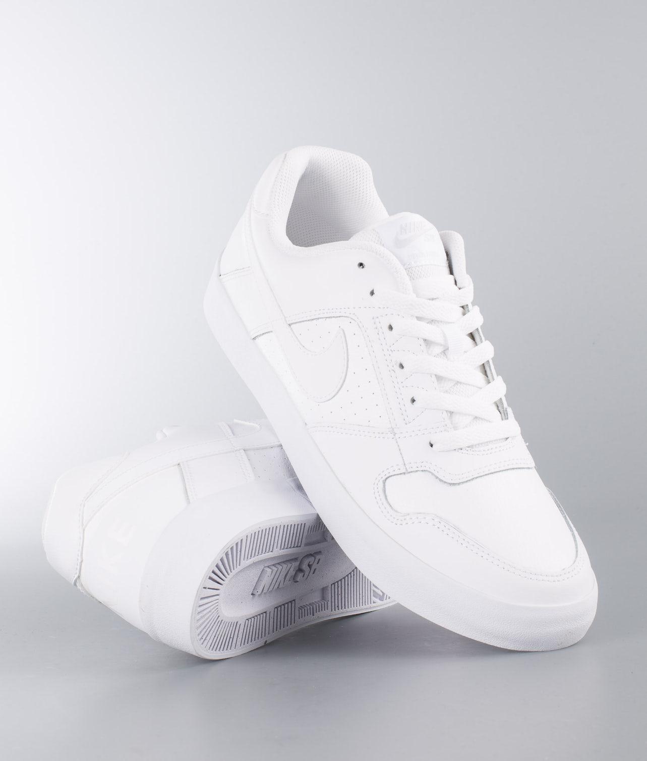 Nike Delta Force Vulc Sko White/White-White