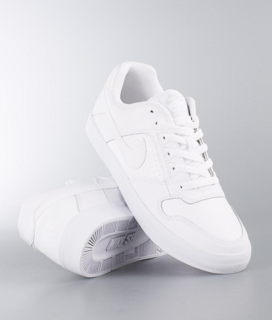 Nike Delta Force Vulc Schuhe White/White-White