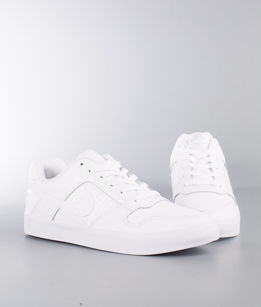 tarjeta en progreso whisky  Nike Delta Force Vulc Shoes White/White-White - Ridestore.com