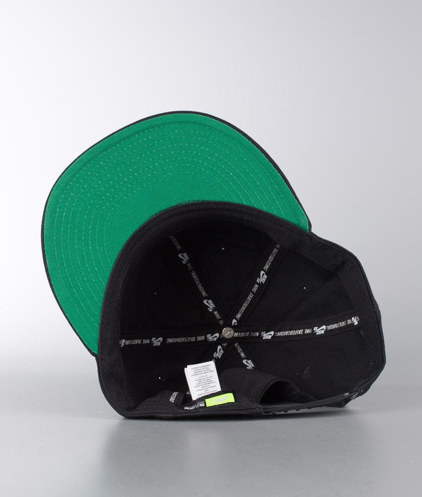 c78df45128c12 Nike Nk Pro Vintage Cap Black Pine Green Black - Ridestore.com