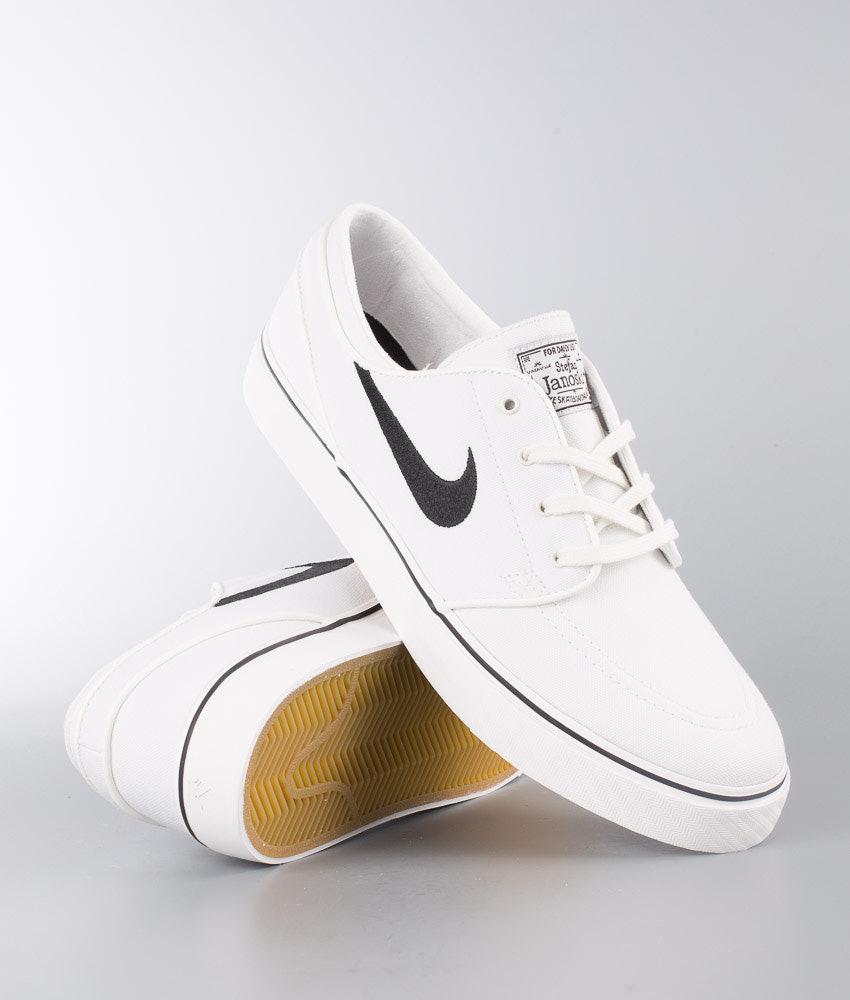 1d46fbd910 Nike Zoom Stefan Janoski Cnvs Shoes Summit White/Black