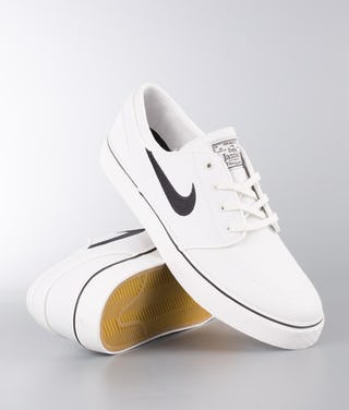 wide range super popular new concept Nike Zoom Stefan Janoski Cnvs Shoes Summit White/Black