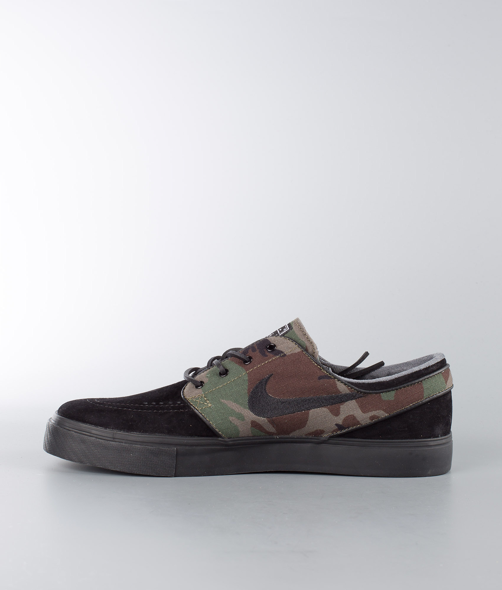 6578131c0eedd5 Nike Zoom Stefan Janoski OG Shoes Black Black-Medium Olive-White ...