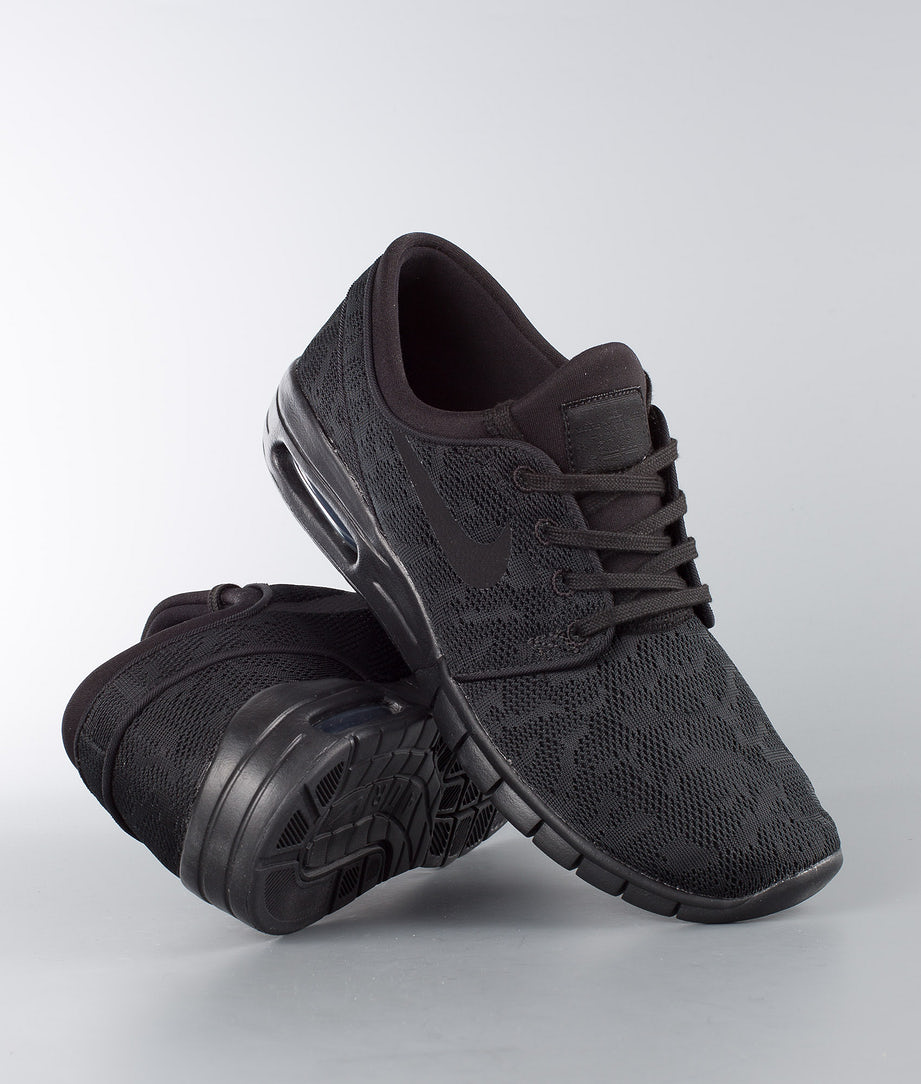 Nike Stefan Janoski Max Shoes Black/Black-Anthracite