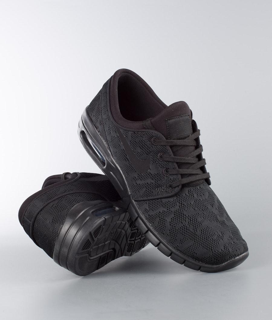 Nike Stefan Janoski Max Kengät Black/Black-Anthracite