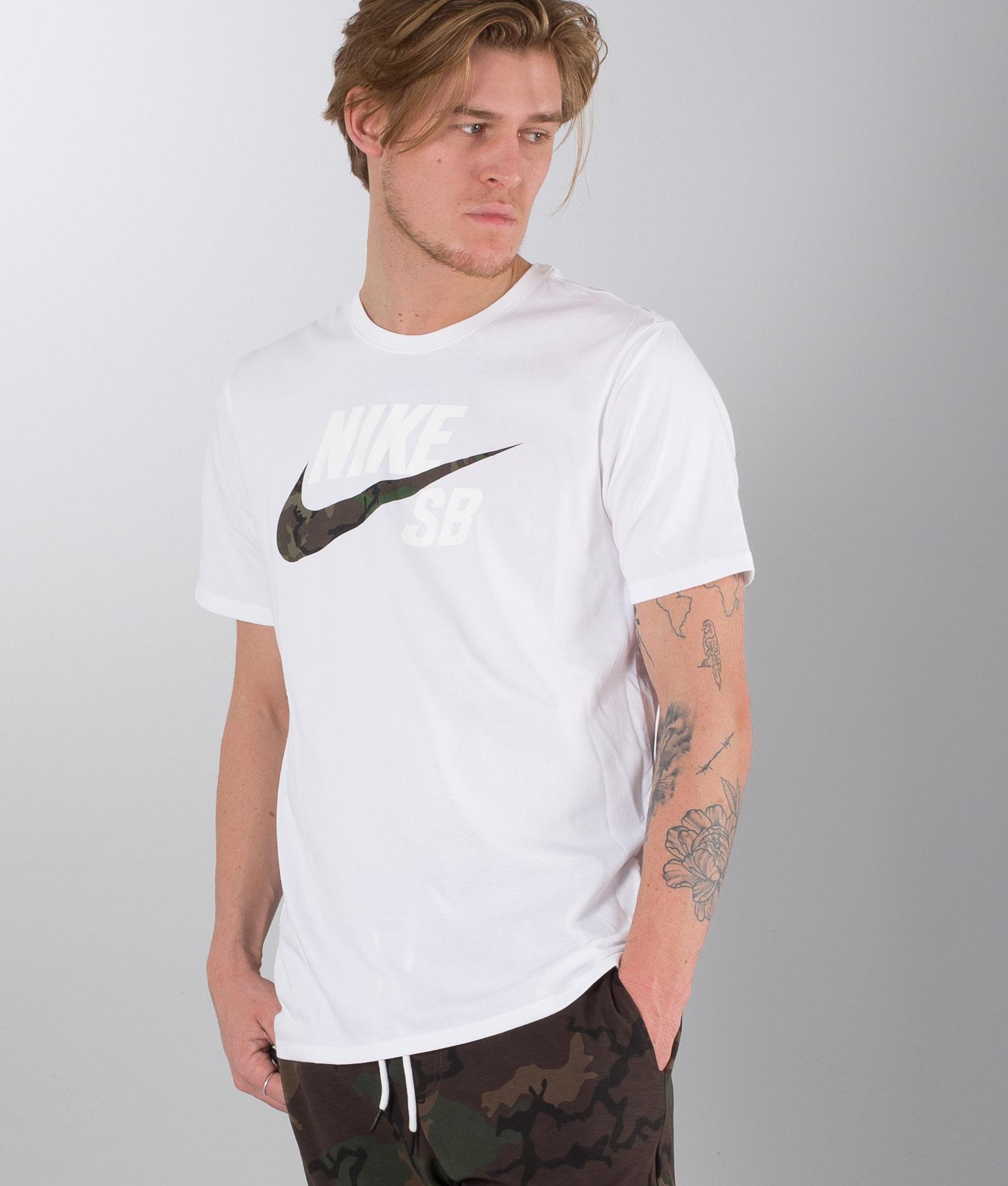 NIKE SB Dry Fit DFC Camo T Shirt für Herren Schwarz