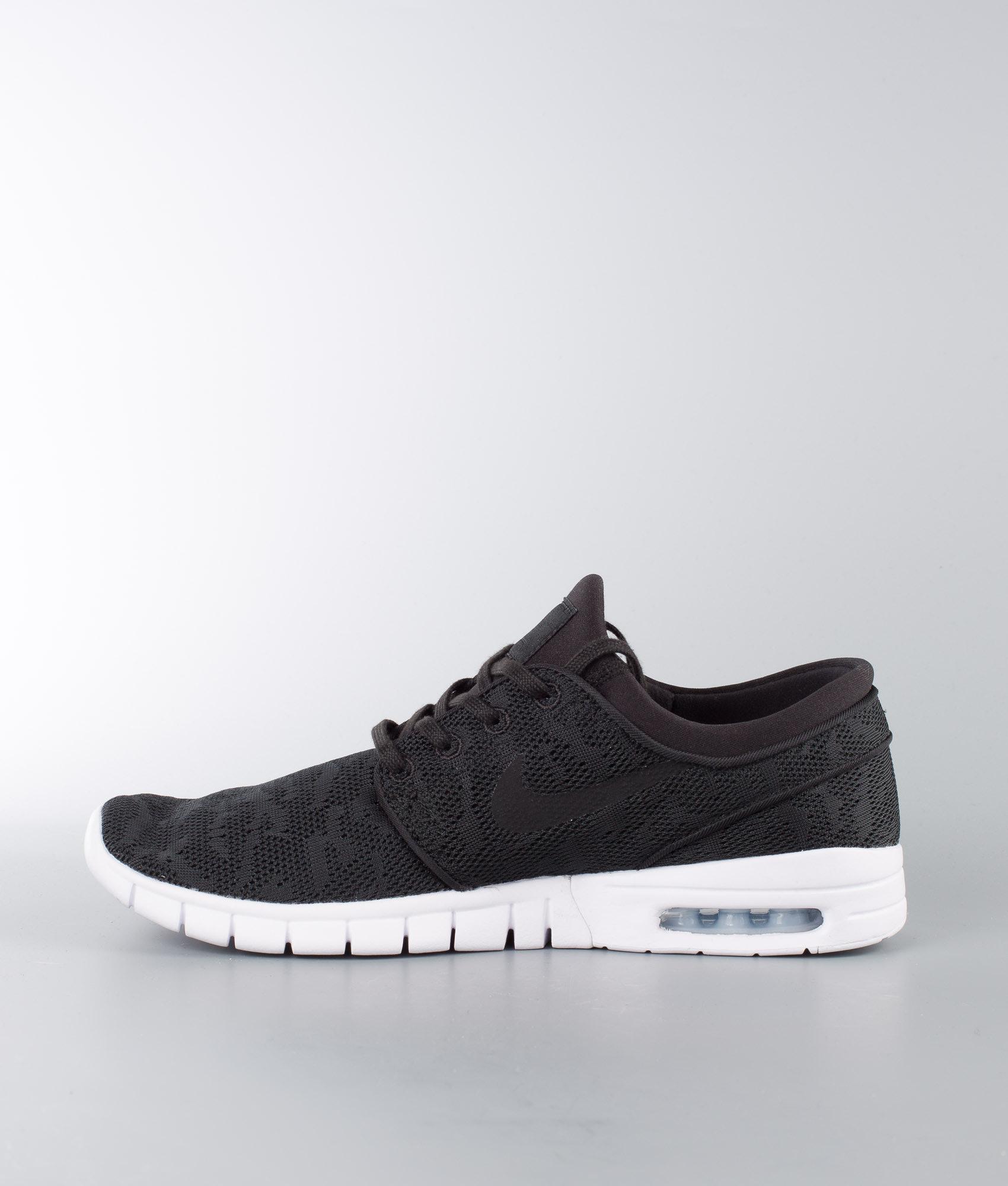 Nike Stefan Janoski Max Shoes Black Black-White - Ridestore.com db450d5947