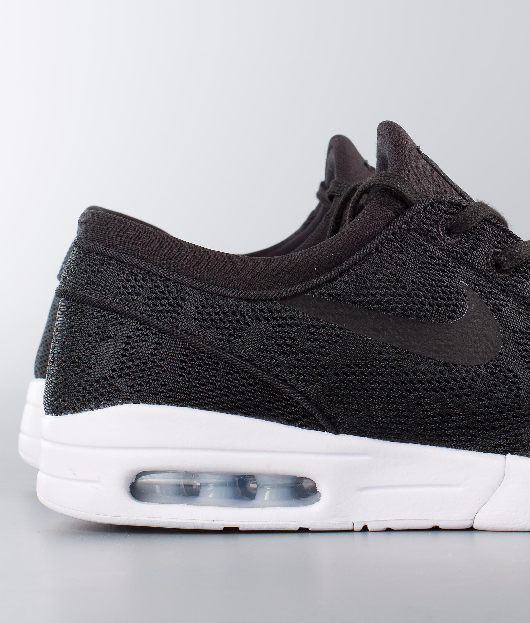 Nike Stefan Janoski Max Shoes Black Black-White - Ridestore.com 2df33aeaf0