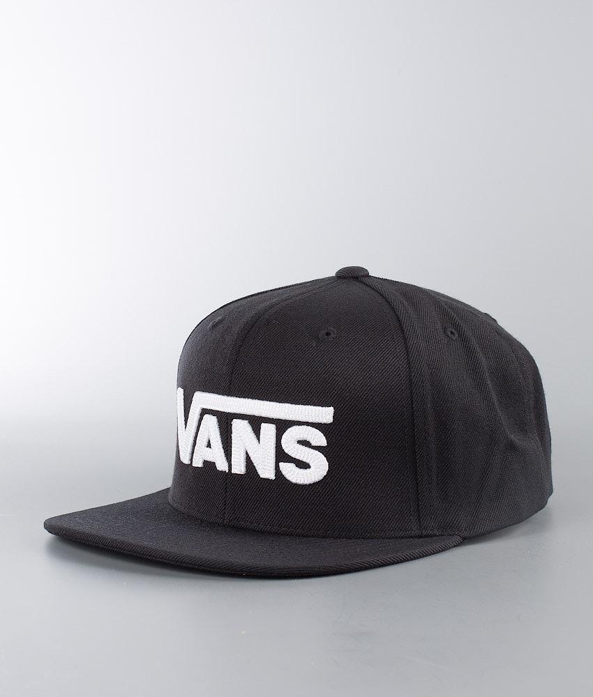Vans Drop V II Snapback Cappello Black/White
