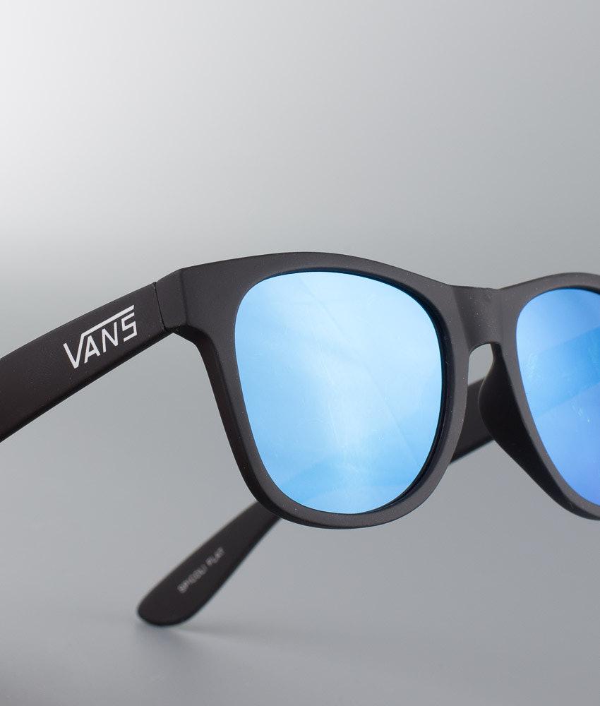 c0eb9290678950 Vans Spicoli Flat Sunglasses Black Light Blue - Ridestore.com