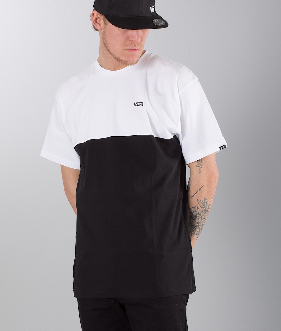 Vans Colorblock T-shirt White/Black