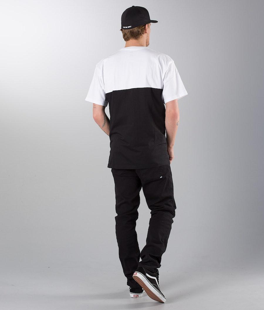 Vans Colorblock T-shirt White/Black