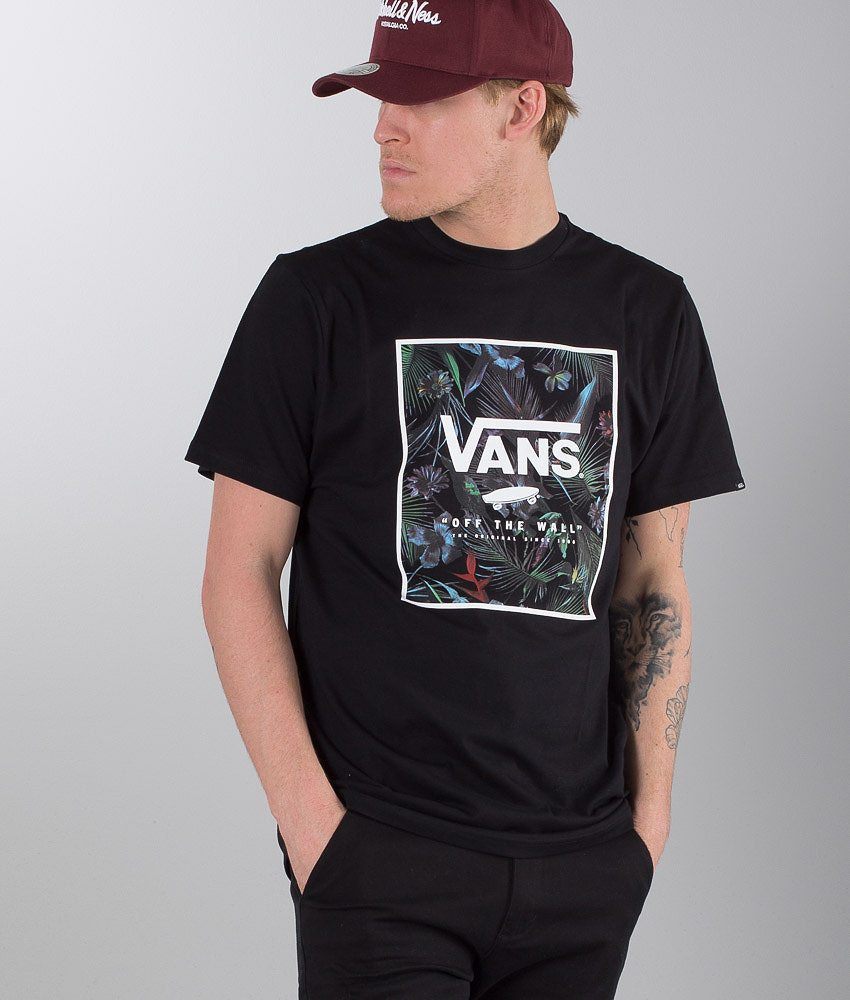 df84126a88 Vans Print Box T-shirt Black Neo Jungle - Ridestore.com