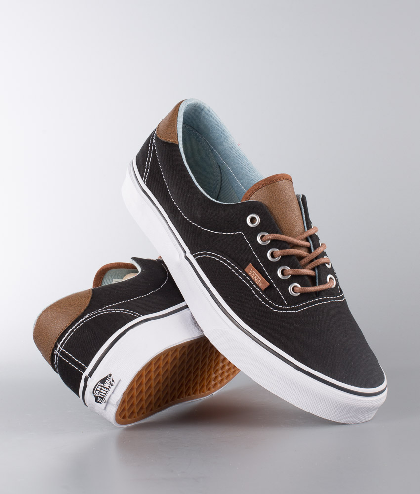 Vans Era 59 Schuhe (C&L) Black/Acid Denim