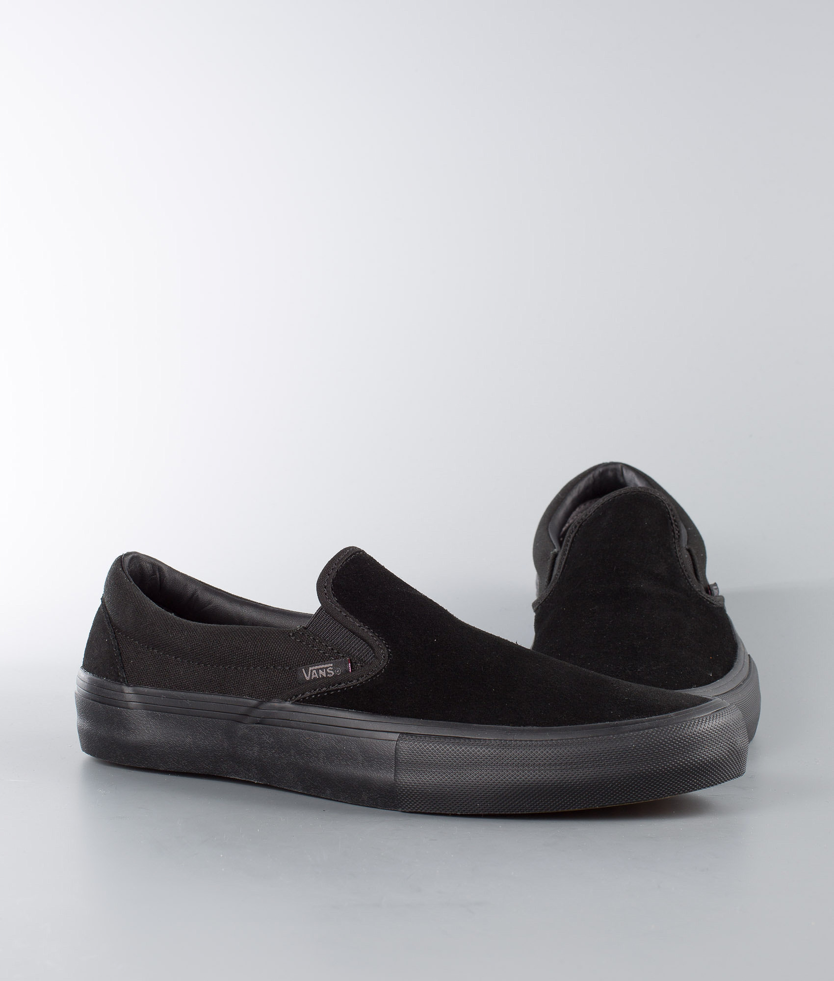 fb101b1a12 Vans Slip-On Pro Shoes Blackout - Ridestore.com