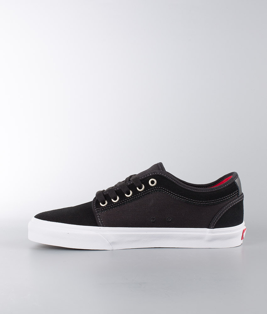 d0972810bf Vans Chukka Low Shoes Black White Chili Pepper - Ridestore.com